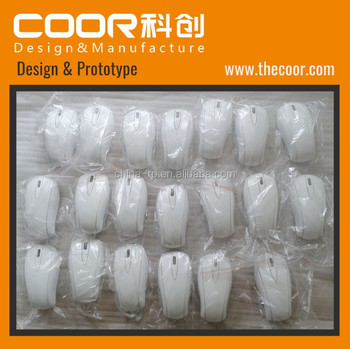 COOR Plastic Rapid Prototyping Service Computer Mouse Batch Production