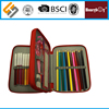 manufacturer supplier two pockets custom printed pencil case