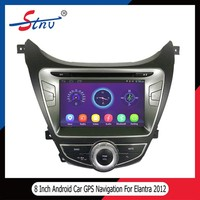 2 Din Car Radio With Navigation For Elantra 2012 In Car GPS Multimedia
