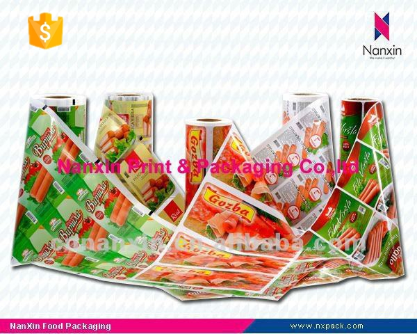 Laminating pouch film for frozen food packaging
