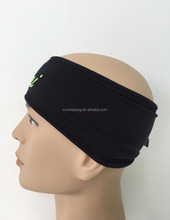 Sporty Touch Men Headband Sweatband Best for Sports, Running, Workout, Yoga + Elastic Hair Band - Ultimate Athletic