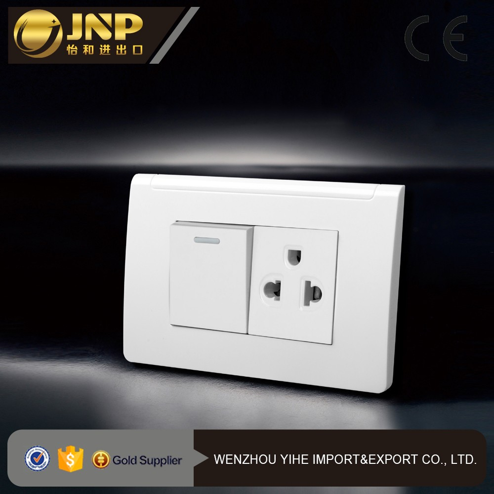 2016 American style 16A Universal Switch socket F6011