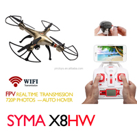 720P FPV HD Camera Drone Auto Hover Syma X8HW / X8HW-1 WIFI Real Time Live Video Drone Quadcopter