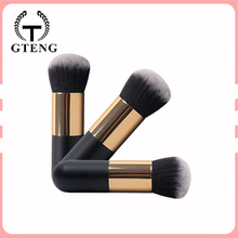 2017 Free Samples Private Label Liquid Foundation Kabuki Makeup Brush For Ladies