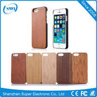2016 alibaba hot selling trending product blank real Wood Pattern Phone case with PC Phone Back Cover case for iPhone 6 6s