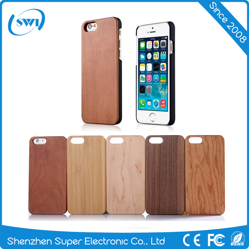 2017 alibaba hot selling trending product blank real Wood Pattern Phone case with PC Phone Back Cover case for <strong>iPhone</strong> 6 6s