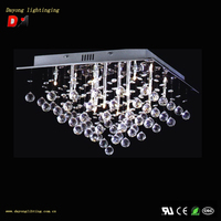 Modern Crystal Ceiling Lamp With High Quality Good Price Design Model: DY6818-16