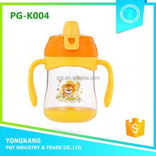 Hot PG-K004 280ml baby water bottle plastic milk can