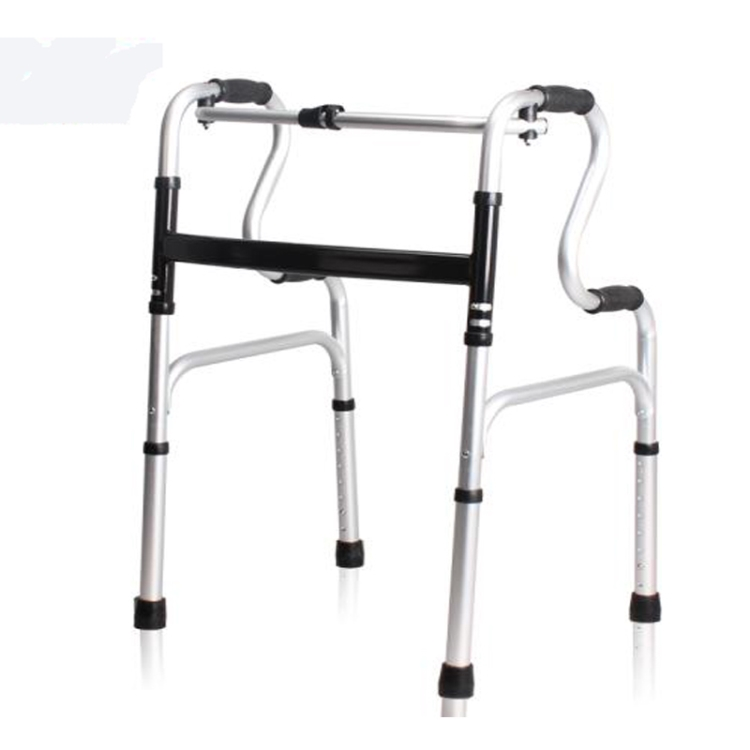 wholesale alibaba Aluminum folding different types of walker with knee support