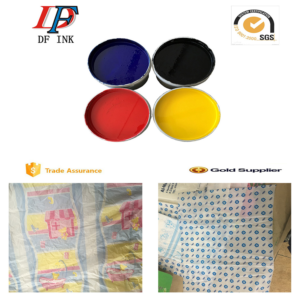 High quality water based pp plastic screen printing ink