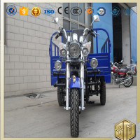 Offer OEM Custom-Made Gas Petrol Three Wheel Motorcycle for Cargo Drum Disc Brake Electrical Kick