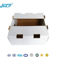 Custom corrugated fruit apple pie packaging box