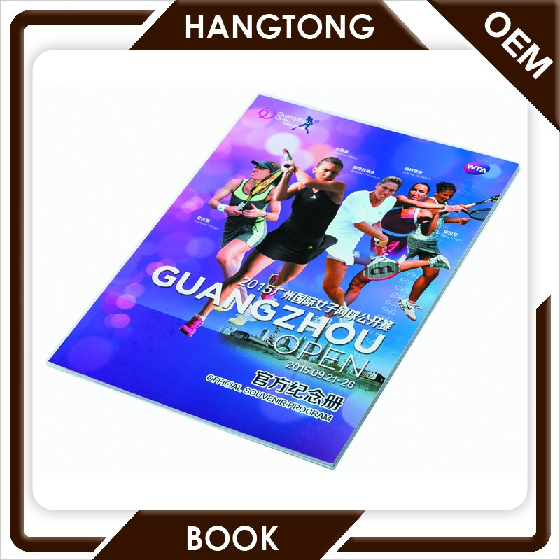 High quality cheap price glossy lamination perfect binding paperback book printing