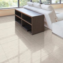beige white color large scale travertine flooring tiles 1200x600mm