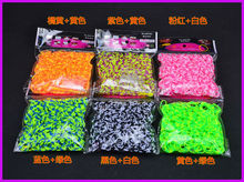 New designed DIY loom bands refill packing wholesale colorful looms rubber bands made in china