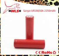 For sanyo ur18650a 2250mAh 3.7v li-ion rechargeable battery 18650 flat top Rechargeable battery ur18650a