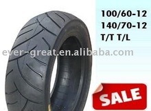 Tubeless Motorcycle Tyre 100/60-12