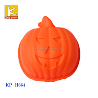 2016 new arrival products free sample cake mould , pumpkin shaped silicone cake mould