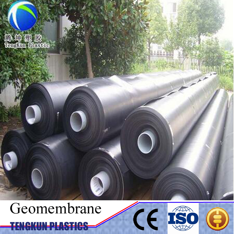 astm high quality waterproof plastic dam 1.5mm hdpe geomembrane price