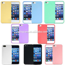 New cheap rubber soft silicone gel skin bumper TPU case cover for iphone 5 5s