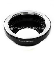 Pentax 645 lens to (for)Nikon F mount adapter