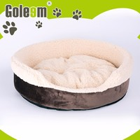 Good Design Pet Furniture soft and comfortable Plush Dog Bed