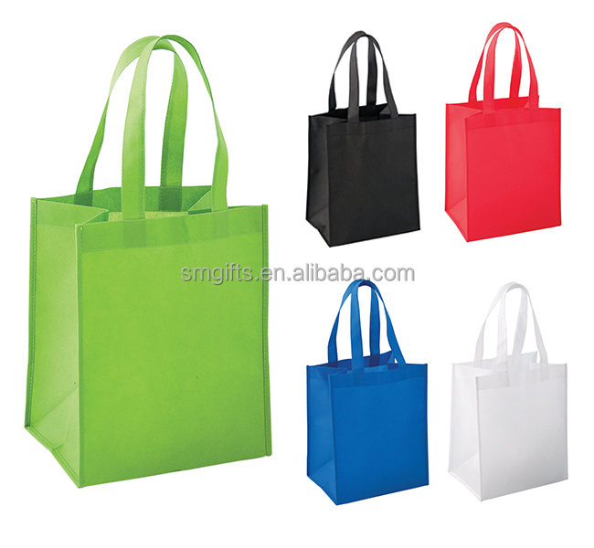 promotional non woven trade show bag with custom logo printing and design