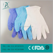 health care product hospital latex bulk colored nitrile disposable gloves