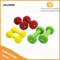 Wholesale colorful Neoprene dumbbell for sale