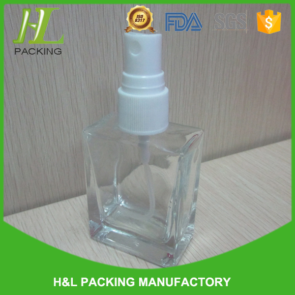 30ml 50ml glass perfume bottle,100ml glass car perfume bottle with high quality and good appearence