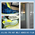 Transparent TPU film for bonding on the shoe upper fabric leather adhesive glue