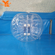 Factory Price 1.2m 100% TPU Inflatable Buddy Bumper Ball, Human Bubble Ball, Bubble Football