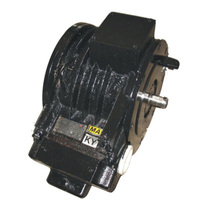AC electric motor for trolley locomotives