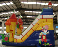 Hot sale commercial Inflatable slide cheap giant Inflatable slide for amusement park