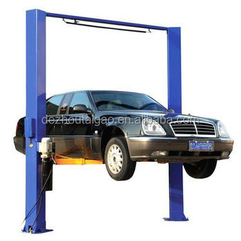Good quality and best price 4.5T single side unlocking 2 post car lift