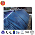 2015 heat pipe glass vacuum tube solar collector