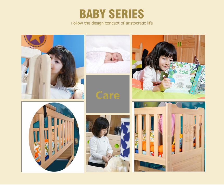 cheapest pine wood baby bed cribs