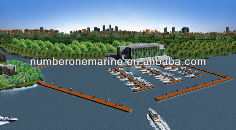 Modular Floating Dock from Chinese Manufacturer