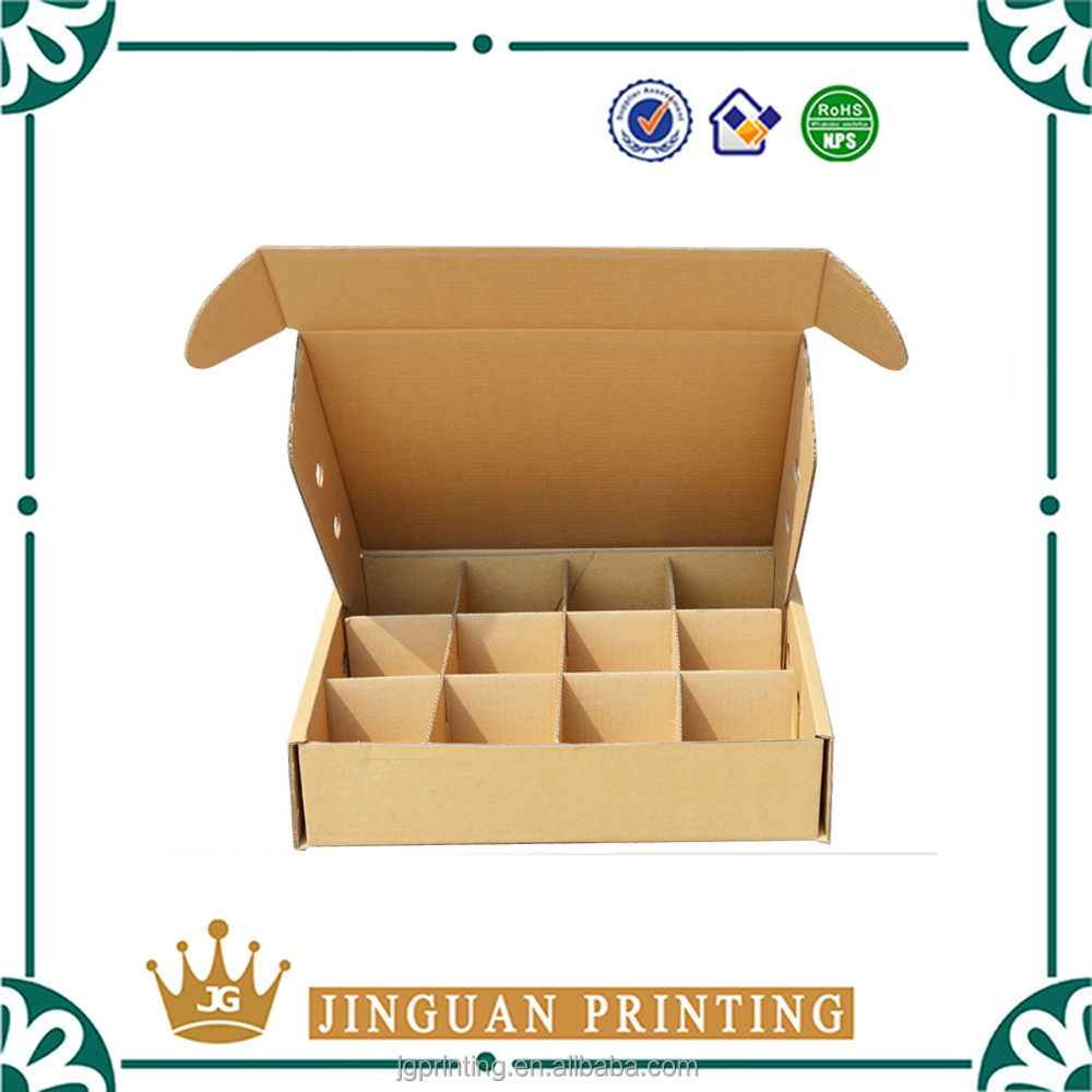 Custom colorful printing fruit packaging high quality kraft corrugated paper avocado box