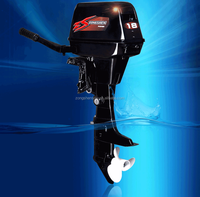 Famous 18hp motor outboard for aluminium boats, inflatable boats. FRP boat