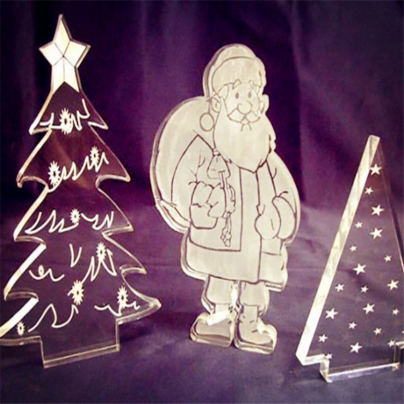 Factory direct sale acrylic Christmas tree,laser cut acrylic Christmas tree decoration,Christmas tree for gifts