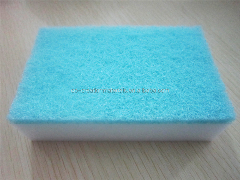 Househole items custom manufacturing dirty kitchen thick sponge dish washing sponge