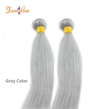 alibaba hair products brazilian silky straight grey remy human hair weave