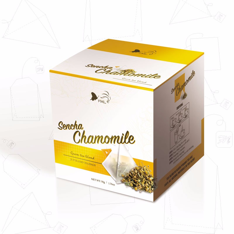 Natural herbal organic sencha chamomile tea for weight loss