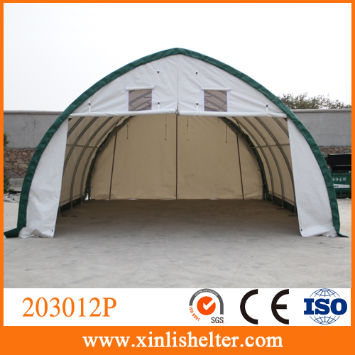 Steel Pipe Garage Canopy, PVC material outdoor tent 203012P