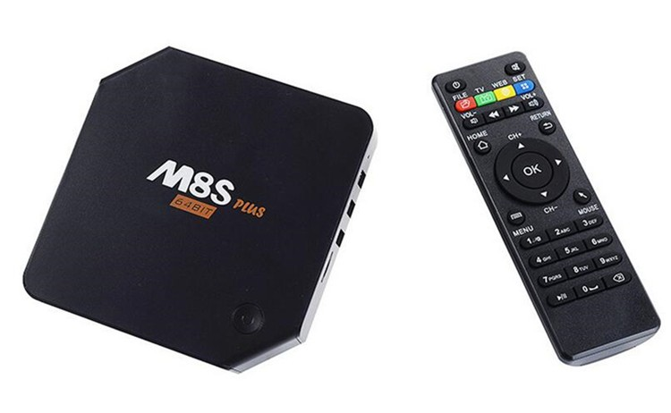 Tablet Pc Satellite Receiver Gadmei Tv Tuner Box M8S Plus Android Tv Box Android 5.1
