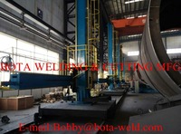 Welding Column & Boom Manipulator with Travelling Rail Track