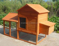 Wooden Hen House with nest and run