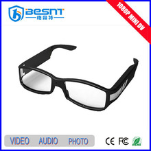 High Definition CCTV System Memory Card Sunglasses 1080P Invisible Camera (BS-787P)