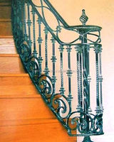 The Philippines wrought iron railings for indoor stairs is wonderful,it made by China factory
